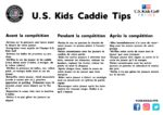 Caddie Tips